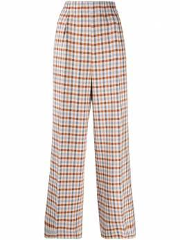 Jejia клетчатые брюки с завышенной талией 2839J1P003205037