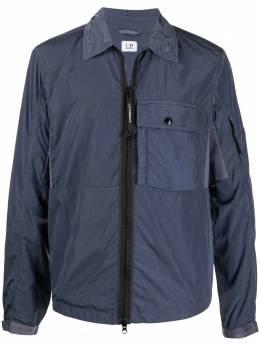 C.P. Company рубашка на молнии 09CMOS073A005148G