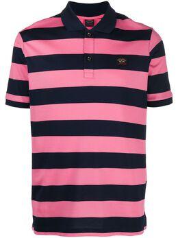 Paul & Shark striped short sleeve polo shirt C0P1012