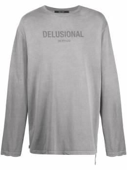 Ksubi футболка Delusional с длинными рукавами 5000005014