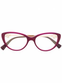 Bvlgari очки в оправе 'кошачий глаз' с цветочным декором BV4146B5426