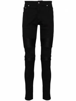 Represent байкерские джинсы скинни M07045031