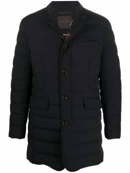 Moorer однобортная стеганая куртка A20M150STKNFLORIOKN