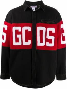 GCDS джинсовая куртка с логотипом CC94M022250