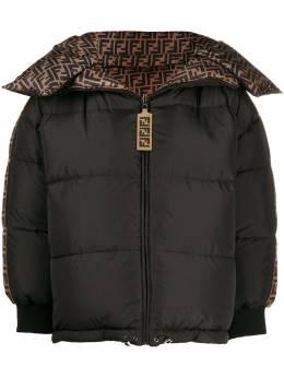 Fendi куртка-пуховик с логотипом FF FAA439A8X3