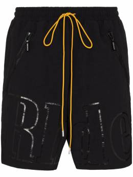 Rhude шорты оверсайз с логотипом RHU08PF20052