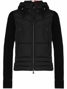 Moncler Grenoble куртка-пуховик с контрастными рукавами F20978G5090080093