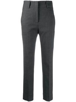 Incotex укороченные брюки строгого кроя с завышенной талией 173640D1212