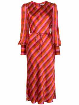 Rebecca Vallance платье миди с длинными рукавами 20031771