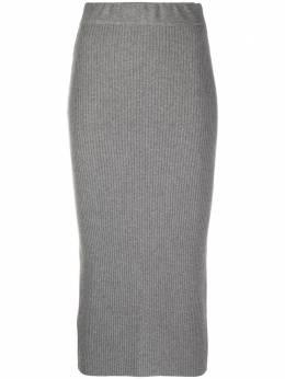 Andamane юбка-карандаш в рубчик 2001W