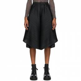 Pleats Please Issey Miyake Black Motion Trousers PP08JF783