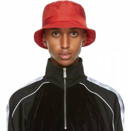 Versace Red GV Signature Bucket Hat ICAP004 A230630