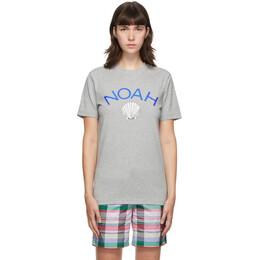 Noah Nyc Grey adidas Edition Shell Logo T-Shirt GE1262