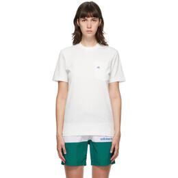 Noah Nyc White adidas Edition Shell Pocket T-Shirt GM8426