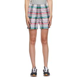 Noah Nyc Multicolor adidas Edition Check Shorts GE1261