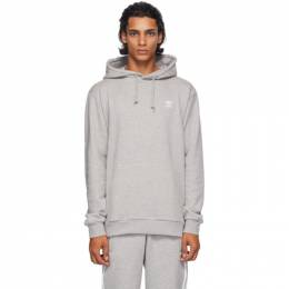 Adidas Originals Grey Trefoil Essentials Hoodie FM9958