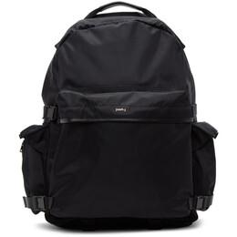 Juun.J Black Nylon Multi-Pocket Backpack JC07D4P11