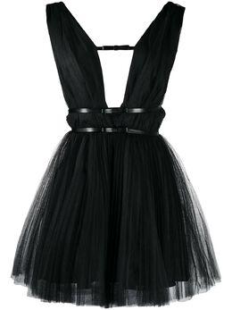 Brognano платье с глубоким V-образным вырезом 29BR1A11204751