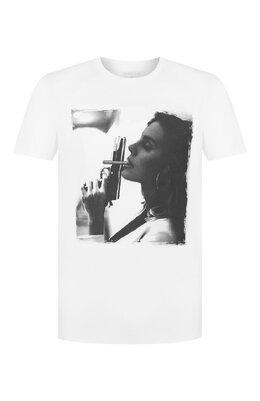 Хлопковая футболка Bisibiglio LADY FUMPIST0L/HEAVY