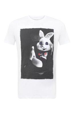 Хлопковая футболка Bisibiglio LU SAB0 RABBIT/PESANTE