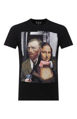 Хлопковая футболка Bisibiglio LU ARTE/PESANTE
