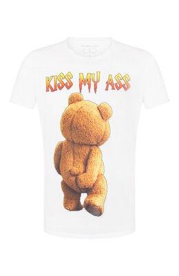 Хлопковая футболка Bisibiglio TED MY ASS