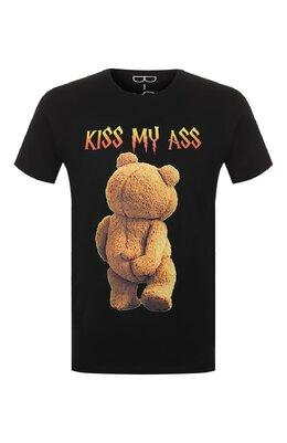 Хлопковая футболка Bisibiglio TED MY ASS/HEAVY