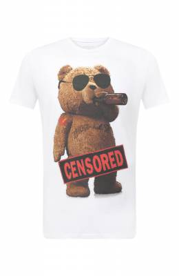 Хлопковая футболка Bisibiglio TEDDY CENS LIFE/PESANTE