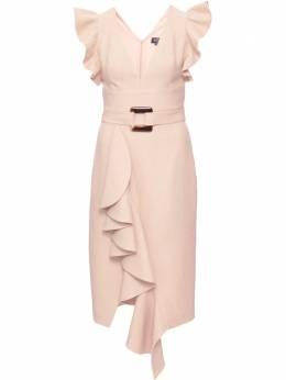 Patbo платье с оборками VEM10226US