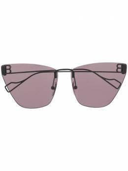 Balenciaga Eyewear солнцезащитные очки в безободковой оправе 628252T0005