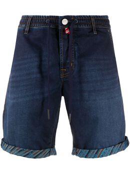 Jacob Cohen джинсовые шорты-бермуды с кулиской J6154COMF01843W1