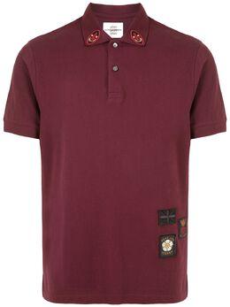 Kent & Curwen рубашка поло с нашивками K40H9TR03076