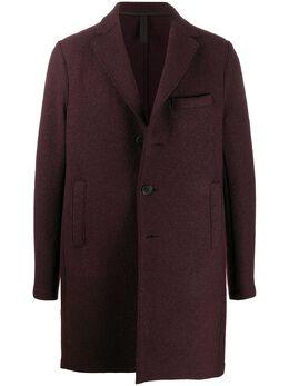 Harris Wharf London однобортное пальто C9101MLC