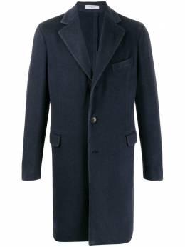 Boglioli однобортное кашемировое пальто C3401JBMC403
