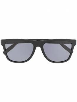 Montblanc солнцезащитные очки в геометричной оправе MB0062S