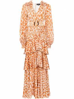 Patbo платье макси Margot с асимметричным подолом VEL11539US