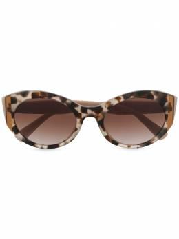 Valentino Eyewear солнцезащитные очки в оправе 'кошачий глаз' VA4039509713