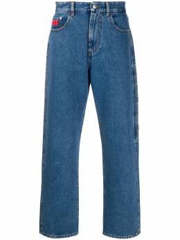 GCDS джинсы с вышитым логотипом CC94M031402