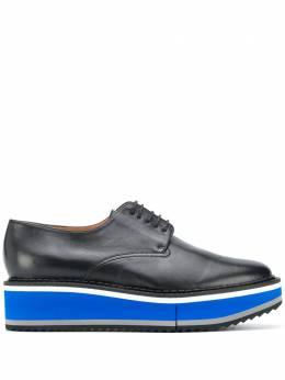 Clergerie туфли Brook на платформе со шнуровкой 315896