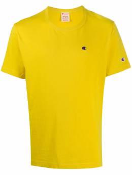 Champion футболка с вышитым логотипом 214674YS082SUW