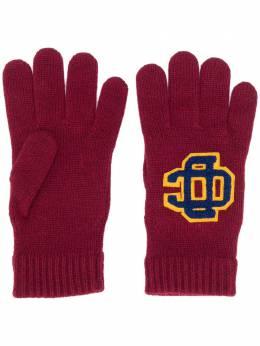 Dsquared2 перчатки с нашивкой-логотипом KNM005201W03227