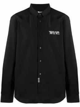 Versace Jeans Couture рубашка с вышитым логотипом EB1GZA6S3E30205