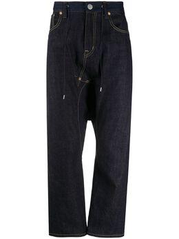 Fumito Ganryu джинсы с кулиской FU4PA02