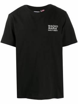 Wacko Maria футболка с логотипом 20SSWMTOT01