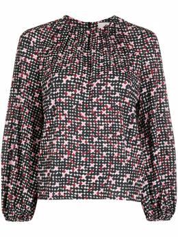 La Doublej блузка Charming с принтом TOP0021VIS001DOT0001