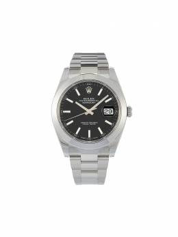 Rolex наручные часы Oyster Perpetual Datejust pre-owned 41 мм 2020-го года 126300