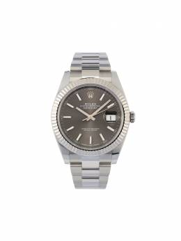 Rolex наручные часы Oyster Perpetual Datejust 41 мм pre-owned 126334