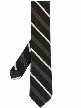 Kent & Curwen галстук в полоску K4079E005038