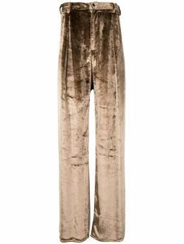 Sulvam бархатные брюки свободного кроя SMP08300