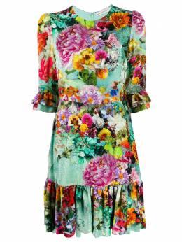 Mary Katrantzou платье Millais с цветочным принтом MILLAISSHORTMD033